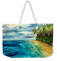 Wandering Through Turquoise Days Weekender Tote Bag