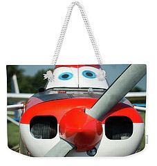 Weekender Tote Bag featuring the photograph Wanna Fly? by James Barber
