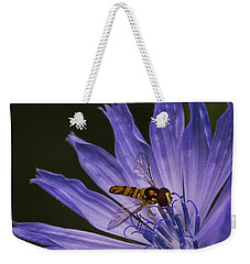 Weekender Tote Bag featuring the photograph Wannabee by Nikki McInnes