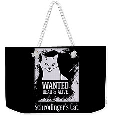 Weekender Tote Bag featuring the digital art Wanted Dead And Alive by Christopher Meade