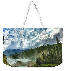 Wapta Falls 1 Weekender Tote Bag