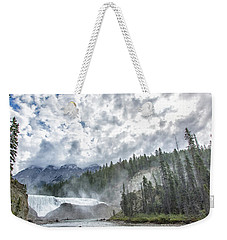 Wapta Falls 2 Weekender Tote Bag