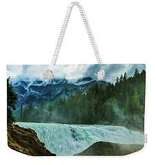 Wapta Falls 3 Weekender Tote Bag
