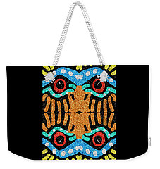 War Eagle Totem Mosaic Weekender Tote Bag