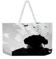 War Helicopters Over The Imperial Fora Weekender Tote Bag
