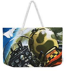 War In The Air Weekender Tote Bag by Wilf Hardy