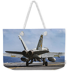 War Party Back On Deck Weekender Tote Bag
