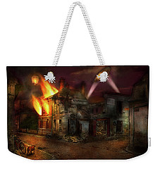 Weekender Tote Bag featuring the photograph War - Wwi - Not Fit For Man Or Beast 1910 by Mike Savad