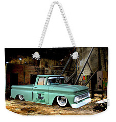 Warehouse Pickup Weekender Tote Bag