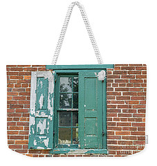 Warehouse Window With Shutter Weekender Tote Bag