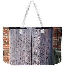 Warehouse Wooden Door Weekender Tote Bag