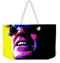 Warhol Robbie Weekender Tote Bag by Jesse Ciazza