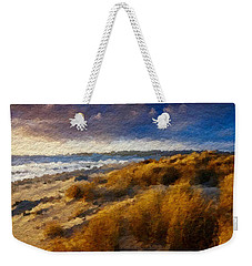 Warm Beach Day Abstract Weekender Tote Bag