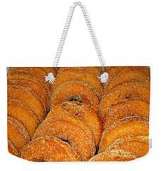 Warm Cider Donuts Weekender Tote Bag