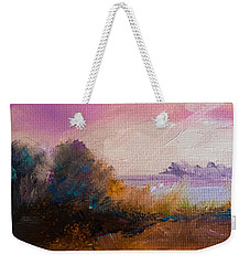 Warm Colorful Landscape Weekender Tote Bag