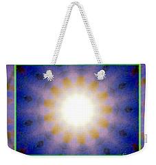 Warm Cool Sun Weekender Tote Bag