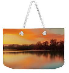 Warm Evening Weekender Tote Bag