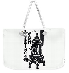 Warm Greetings Weekender Tote Bag