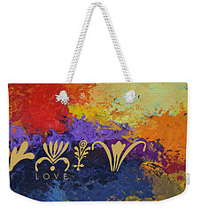 Warm Love Weekender Tote Bag