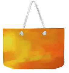 Warm Moment Weekender Tote Bag