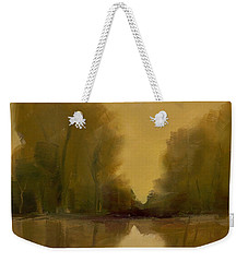 Weekender Tote Bag featuring the painting Warm Morning by Michelle Abrams