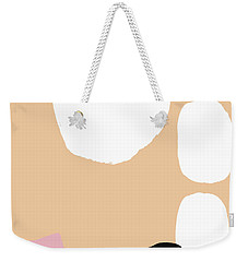 Warm Pastel Abstract Weekender Tote Bag