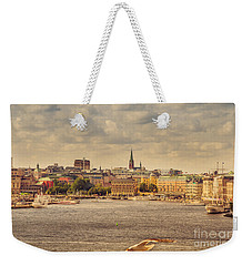Warm Stockholm View Weekender Tote Bag