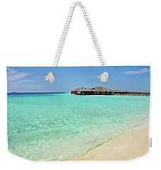 Warm Welcoming. Maldives Weekender Tote Bag