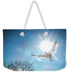 Warmed Wings Weekender Tote Bag