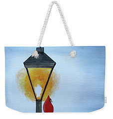 Warming Up Weekender Tote Bag