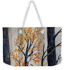 Warmth In Winter Weekender Tote Bag