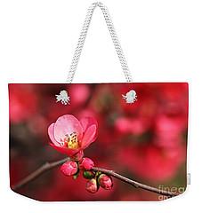 Warmth Of Flowering Quince Weekender Tote Bag