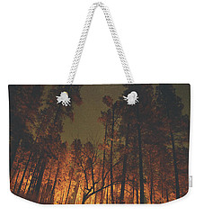 Warmth Of Trees And Stars Weekender Tote Bag