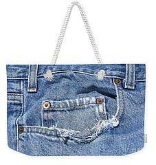 Worn Jeans Weekender Tote Bag by George Robinson