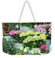 Warnemunde Flower Shop Weekender Tote Bag