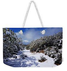 Warner Springs Snow Weekender Tote Bag