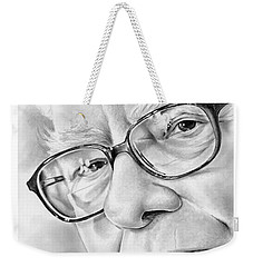 Warren Buffett Weekender Tote Bag