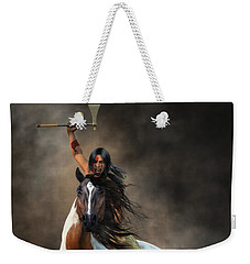 Warrior Weekender Tote Bag by Daniel Eskridge