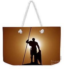 Warrior Weekender Tote Bag by David Lee Thompson