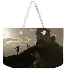Warrior Fae Weekender Tote Bag