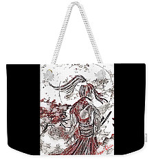 Warrior Moon Anime Weekender Tote Bag