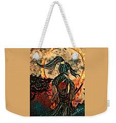 Warrior Moon Weekender Tote Bag