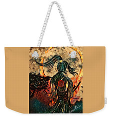 Warrior Moon Weekender Tote Bag