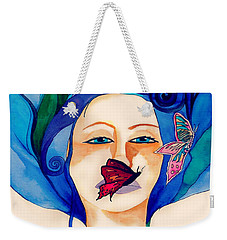 Warrior Woman - She Lives Inside You Weekender Tote Bag