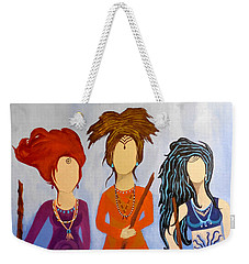 Warrior Woman Sisterhood Weekender Tote Bag