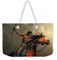 Warriors Of The Plains Weekender Tote Bag