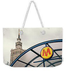 Weekender Tote Bag featuring the photograph Warsaw by Chevy Fleet