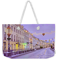 Weekender Tote Bag featuring the photograph Warsaw by Juli Scalzi