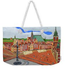Warsaw- Old Town Weekender Tote Bag by Magdalena Frohnsdorff