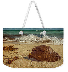 Weekender Tote Bag featuring the photograph Wash Me Away by Melinda Ledsome
